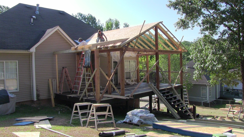 Birmingham Covered Porch Gallery Home Remodeling