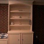 built-in bookcases for basement